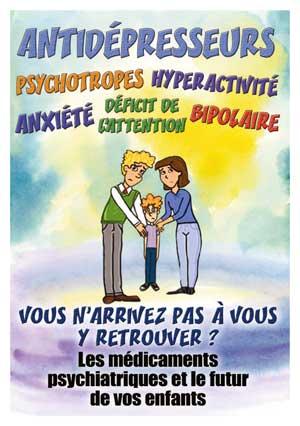 médicaments psychiatriques et enfants
