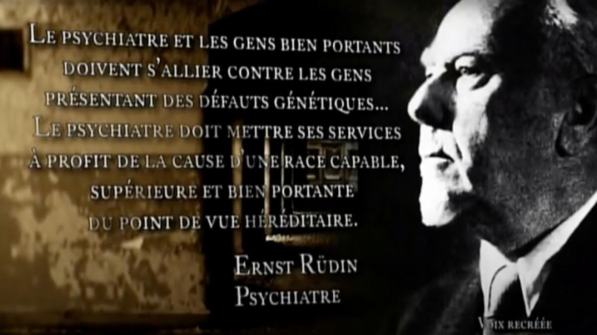Ernst Rüdin. psychiatre
