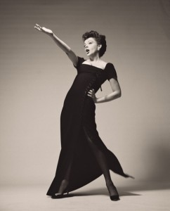 Judy Garland in 1963, by Richard Avedon