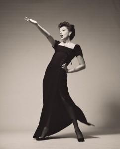 Judy Garland photographiée par Richard Avedon en 1963