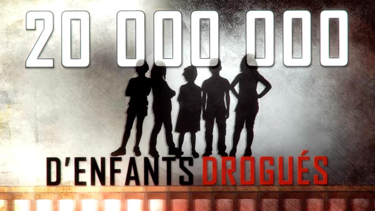 20 millions d'enfants drogués