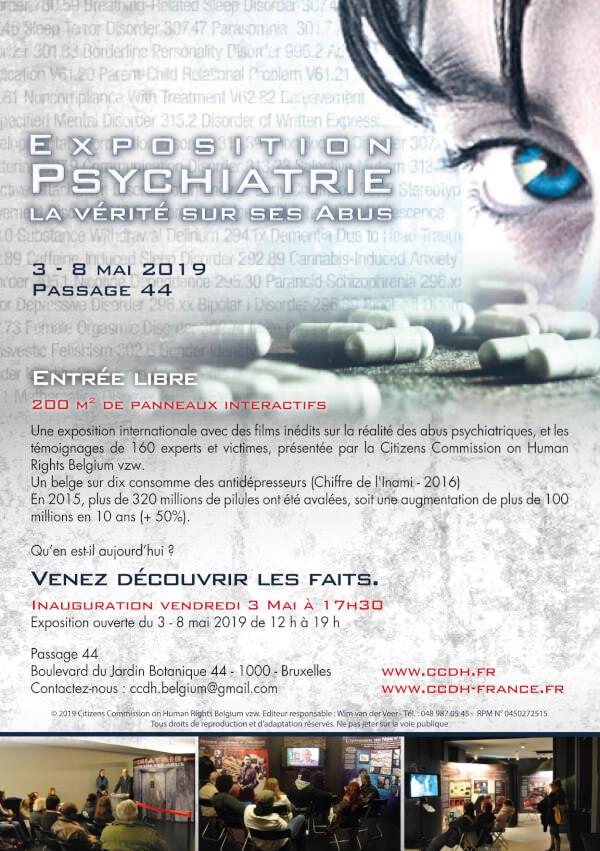 exposition Psychiatrie La vérité sur ses abus Bruxelles